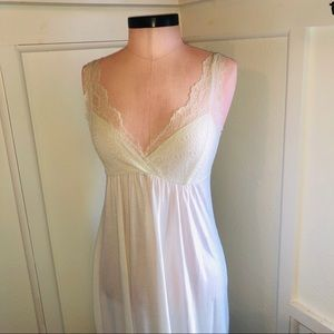 Anthropology Lace Nightgown - Small